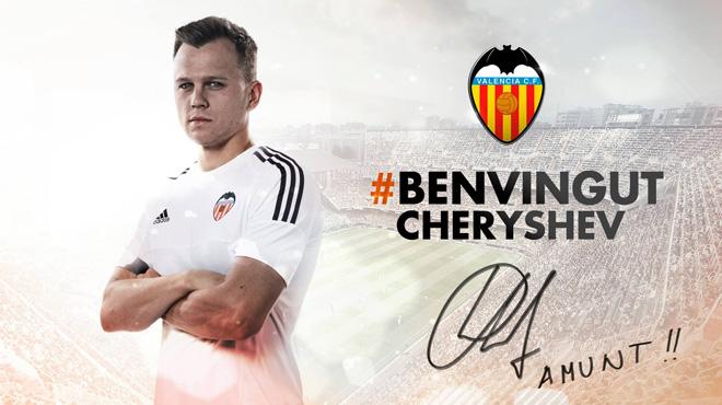 Cheryshev llega cedido al Valencia a tiempo para disputar la Copa contra el Barça