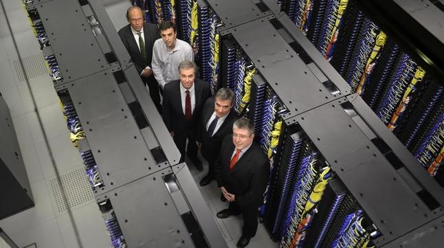 Presentación en el Barcelona Supercomputing Center.