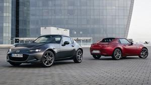 La nueva generación del Mazda MX-5 RF de techo duro se pone a la venta.