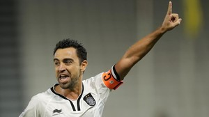 rpaniagua36547021 qatari al sadd club s xavi hernandez r celebrates scoring 170719100353