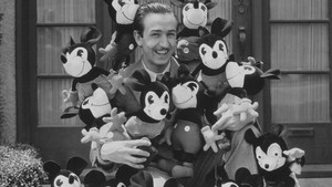 walt disney is pictured surrounded by dolls of his famous ch171117125020