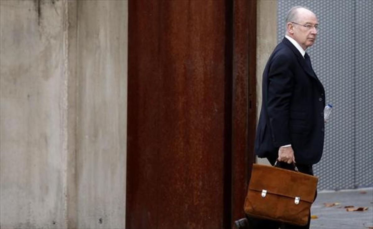 Hacienda ratifica el informe que acusa a Rato de delito fiscal