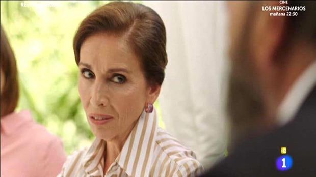 Ana Belén convertida en arpía