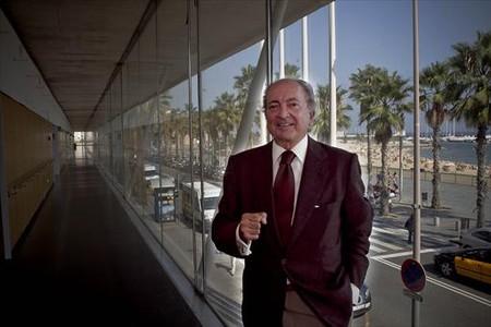 Antoni Miquel, 'Leslie', a l'Hospital del Mar el setembre del 2011.