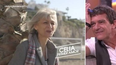 Antonio Banderas escucha a Celia Trujillo, en 'El árbol de tu vida'