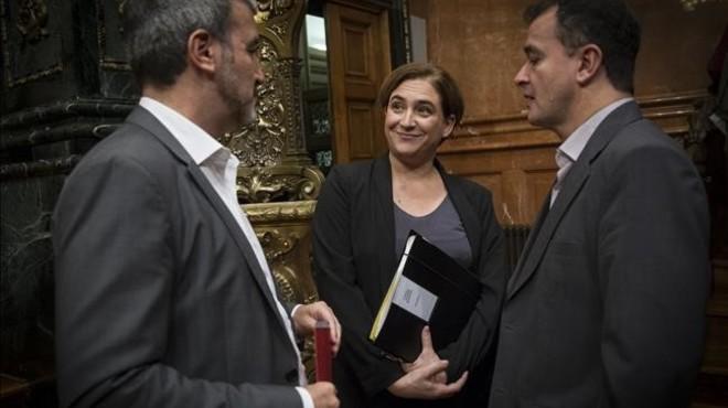 "PSC i ERC insten Colau a buscar soci pressupostari ""fins a l'últim minut"""