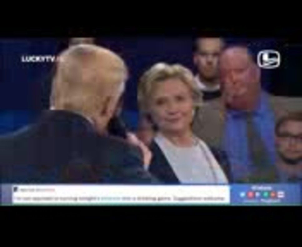 El 'Dirty dancing' de Trump i Clinton