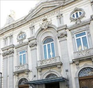 Façana del Tribunal Suprem, a Madrid.