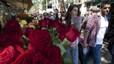 Els floristes esperen mantenir les vendes de roses per Sant Jordi