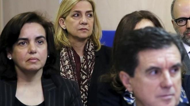 La infanta Cristina se plantea recurrir la sentencia del 'caso Nóos'
