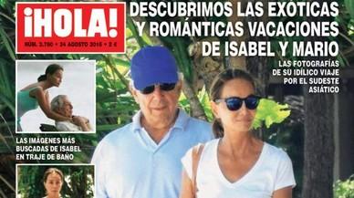 Vargas Llosa i Isabel Preysler, vacances exòtiques