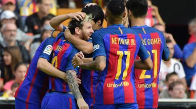 Horari i TV del Barça - Màlaga