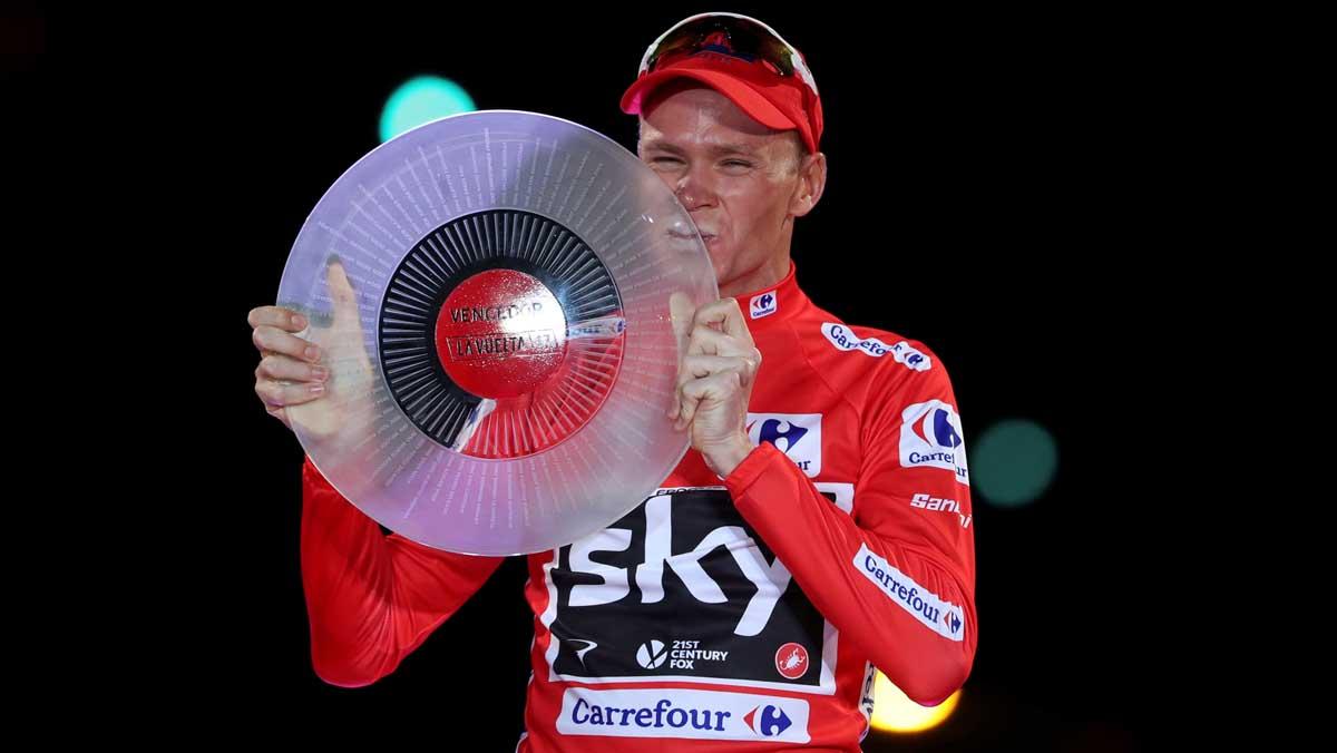L'UCI confirma el positiu de Chris Froome a la Vuelta a Espanya 2017