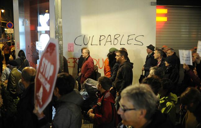 Más de 86.000 firmas contra los desahucios