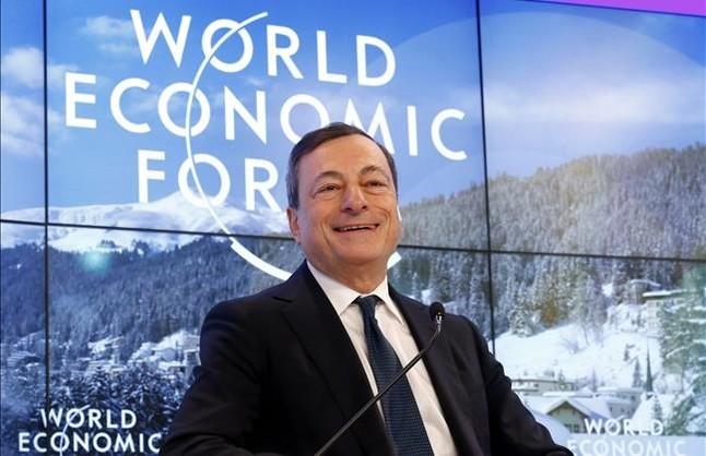 Draghi afirma que el BCE tiene determinación y capacidad de actuación