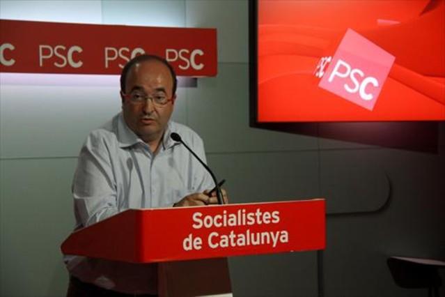 "Iceta: ""Es imposible pensar que el PSOE negociar� sobre un refer�ndum o la independencia"""
