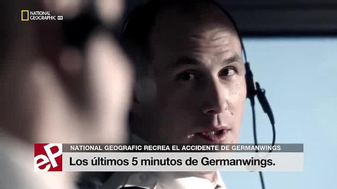 National Geografic recrea los últimos 5 minutos del vuelo de Germanwings.