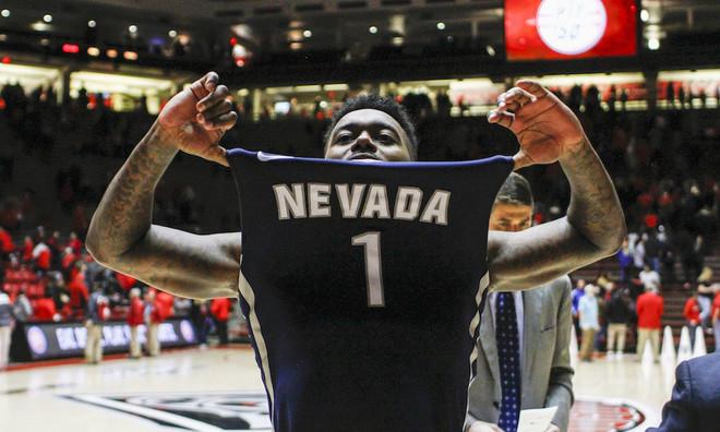 Nevada se apuntó una de las remontadas más sonadas del baloncesto universitario estadounidense.