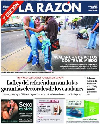 La ley del referéndum anula el Estatut, dicen los servicios jurídicos del Estado