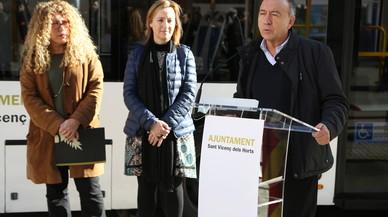 El AMB y el Ayuntamiento de Sant Vicenç del Horts ponen en marcha la nueva red de bus urbano del municipio