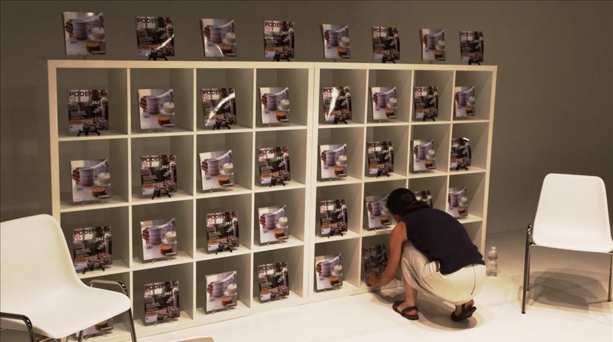 Presenta su programa del 26 j como un catálogo de ikea
