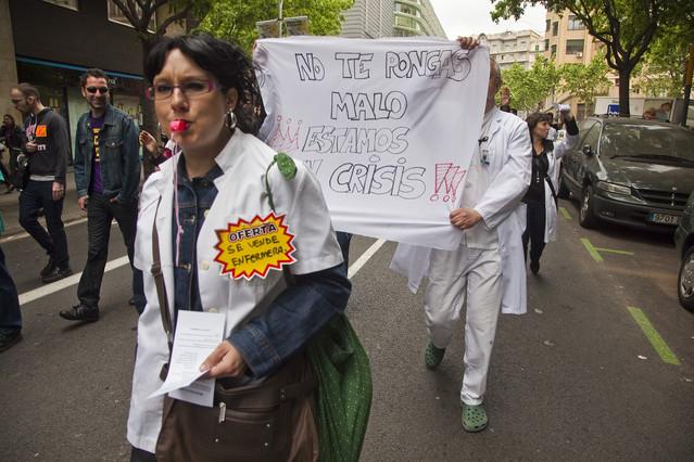 Los recortes en la sanidad catalana disparan el desempleo entre las enfermeras