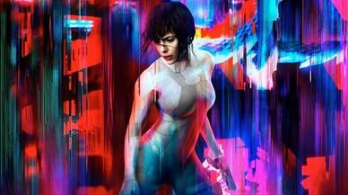 Scarlett Johansson, en su papel protagonista de 'Ghost in the shell'.