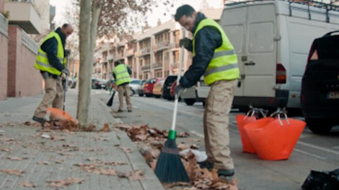 Terrassa contrata un centenar de personas para limpieza y obras