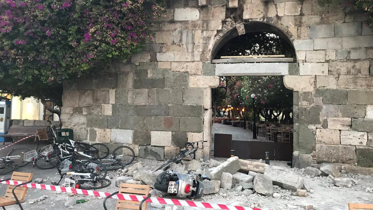 Un terremoto de 6,2 grados sacude la costa egea de Turquía