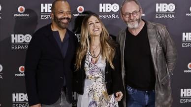 Sarah Jessica Parker omple de glamur la presentació d'HBO a Espanya