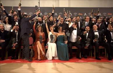 Goya: la gala, en cinc vídeos