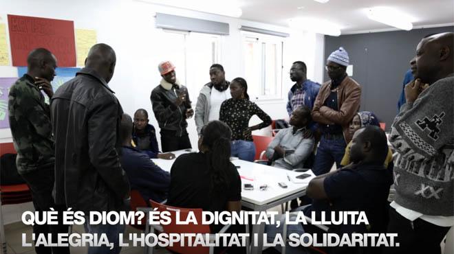 Vídeo promocional de la cooperativa de vendedores ambulantes de Barcelona.