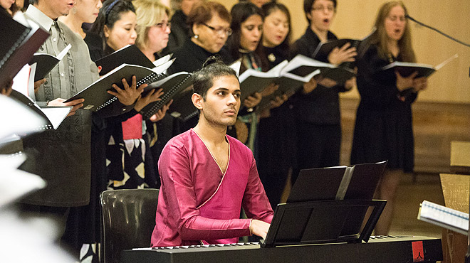 Vignesh Melwani, el Billy Elliot del Poble-sec