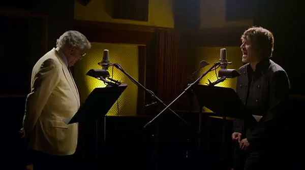 Dani Martn canta con Tony Bennett: 'Are you having any fun?'