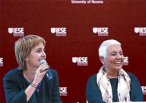 Rosa Oriol (izquierda) y Rosa Tous, en una imagen de archivo.