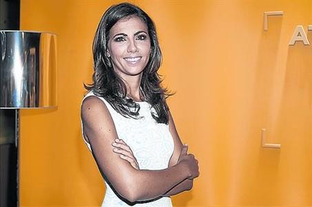 Ana Pastor, en la presentaci�n de 'El objetivo', en Madrid