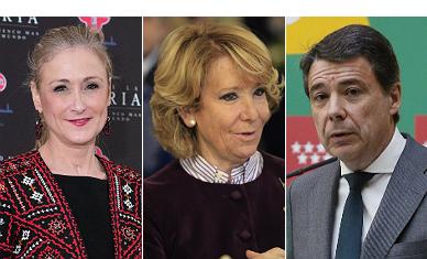 Rajoy elige a Cifuentes para la comunidad y a Aguirre para la alcald�a