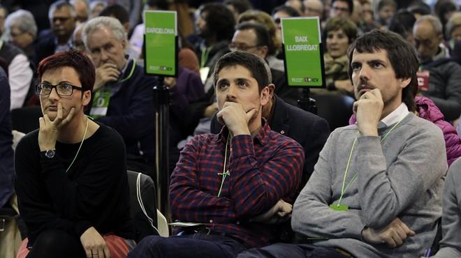 Els comuns exhibeixen recels amb la Generalitat després de l'anunci del referèndum