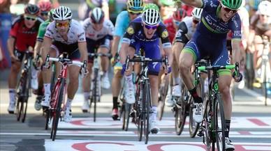 El belga Keukeleire guanya a l'esprint a Bilbao