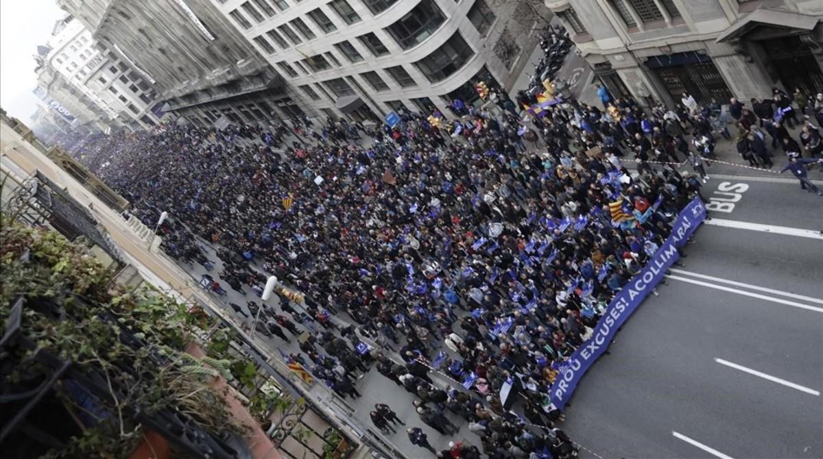 El Eco Internacional De La Marcha De Barcelona Por Los