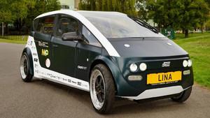 Lina coche biodegradable