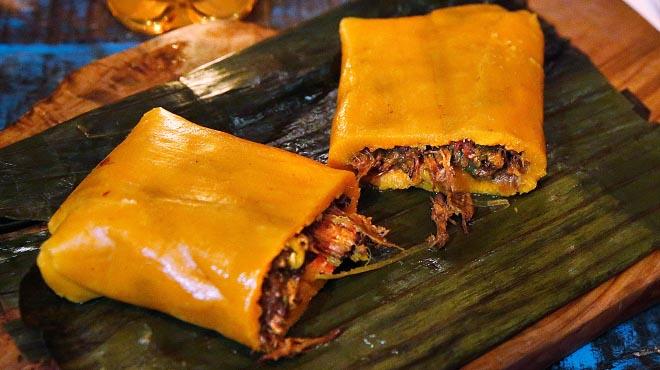 Receta de hallaca de Adnaloy Osío, del restaurante Caña de azúcar