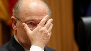 La comparecencia de Rodrigo Rato en la comisión sobre la crisis.