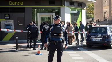 La Policia frustra un atracament amb ostatges a Madrid: sense ferits i el lladre arrestat
