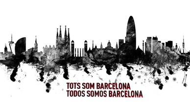 Solidaritat a les xarxes amb Barcelona