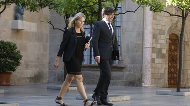 Puigdemont convoca este lunes a todos los partidos favorables al referéndum