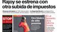 La portada de EL PERIÓDICO del 3 de diciembre del 2016