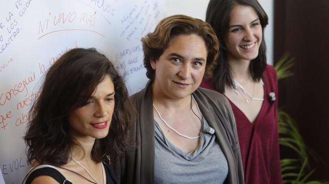 """Colau denuncia que va rebre una """"agressió"""" sent alcaldessa de Barcelona"""