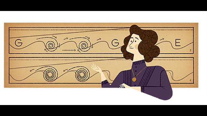Google ret homenatge amb el seu 'doodle' a Hertha Marks Ayrton
