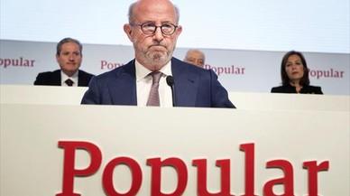 Los clientes del Popular no pierden, los accionistas lo pierden todo